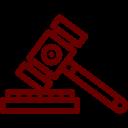 Icône d'un marteau de juge, Sabbagh et Associés